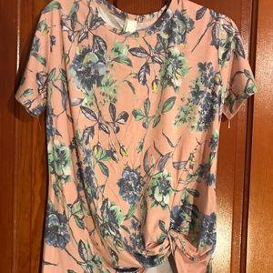 Floral shirts.